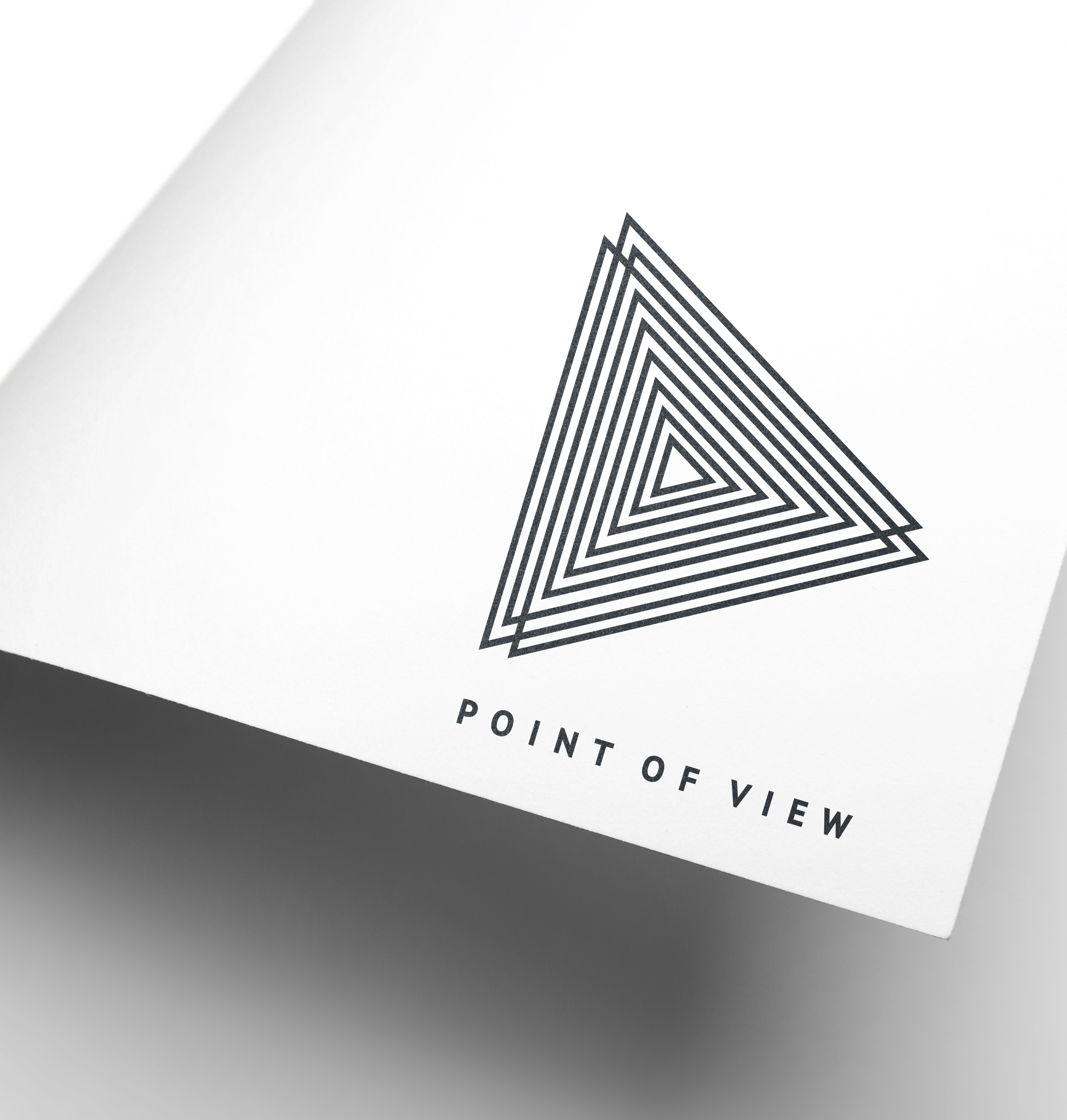 POINT OF VIEW Portugal, Logo Design